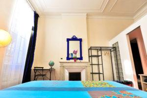 Les Tomettes chambres d'hôtes à Marseille, chambre ciel bleu